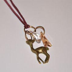 make it & fake it: DIY Swarovski Long Necklace