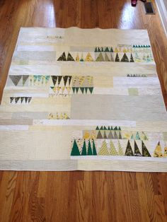 Outfoxed Forest Lap Quilt finished in time for 2015 quilt show entry!