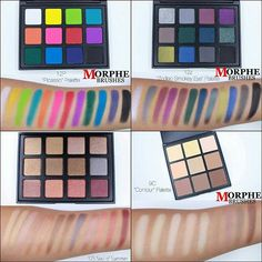 "NEW Morphe Palettes | NOW AVAILABLE!! Promo code: ""dupethat"" or ""Adoptlove"" for 10% off!"