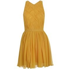 Personally, I couldn't rock this colour but that doesn't mean I don't think this a pretty dress. Independent Rouched Dress by Zimmermann.