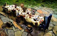 Mesa para fiesta de Alicia en el país de las maravillas. Fiestas infantiles.|OH MY FIESTA!