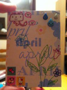 carte spéciale anniversaire par Allie idée 10 vie www.cartefaitmain.eu #carte #diy