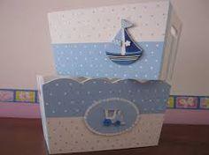 Resultado de imagen para cajas de madera pintadas a mano para bebes