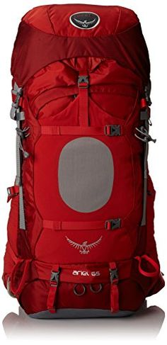Osprey Women's Ariel 65 Backpack, Vermillion Red, Small O...