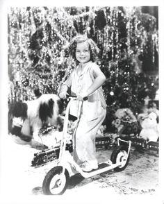 Shirley Temple, Christmas 1930s.