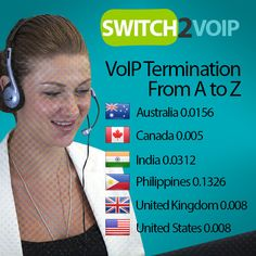 finding the right A-Z Voip Termination provider for your business is essential in establishing a great and solid relationship. The following is a quick and easy guide that will help you determine the most important things to look for in a VoIP Termination provider. 6 Things to Look for When Choosing a VoIP Termination Provider http://www.switch2voip.us/voip-services/22-a-z-voip-termination