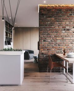 Amazing Home Stone Interior Design - Decoration Loft Interior, Brick Interior, Interior Styling, Interior Architecture, Interior Decorating, Loft Design, Deco Design, Design Case, Cheap Apartment