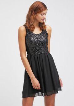 Hier wird dem kurzen Schwarzen Glanz verliehen! Even&Odd Cocktailkleid / festliches Kleid - black für 35,95 € (15.02.16) versandkostenfrei bei Zalando bestellen.