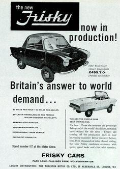 Meadows Frisky , England 1958–1961 1140×1604 пикс
