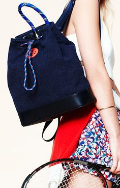 Sporty to luxe, the bucket bag is the carryall of the season. #Shopbop