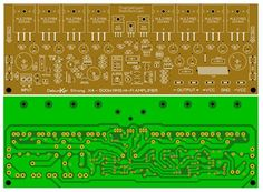 Click the image to open in full size. Click the image to open in full size Diy Amplifier, Class D Amplifier, Electronic Schematics, Electronic Circuit, Circuit Board Design, Audio, Circuit Diagram, Electrical Engineering, Electronics Projects