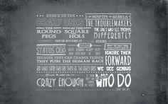 New Crazy Ones Wallpapers Reloaded | Blog