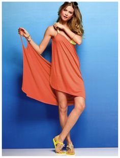 Victoria's Secret dress... Summer DIY project? Doesn't look too hard!!