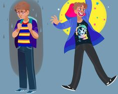 my urge to draw jeremy in glasses was immediate!! an em-urge-ency!!! Will Roland, Michael In The Bathroom, Be More Chill Musical, Michael Mell, Vader Star Wars, Handsome Anime, Theatre, Drawings, How To Wear
