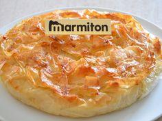 Croustade landaise aux pommes et amandes : Recette de Croustade landaise aux pommes et amandes - Marmiton