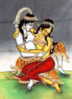 Buy exquisite Batik Paintings, Art and Prints, created using the wax method, depicting Hindu Gods, Goddesses and more only at ExoticIndia. Indian Gods, Indian Art, Tantra, Cool Illusions, Durga Images, Lord Shiva Family, Hindu Deities, Hinduism, Spiritual Images
