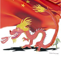 Investors may pay the price of state of denial over China. Few investors seem to appreciate the balance sheet reckoning that is coming. Illustration: Rocco Fazzari