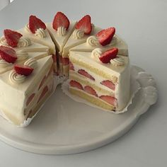 Pretty Birthday Cakes, Pretty Cakes, Cake Birthday, Good Food, Yummy Food, Delicious Donuts, Think Food, Cute Desserts, Just Cakes
