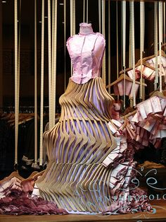 #visual merchandising Anthropologie window display