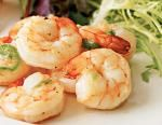 4pt+ Lemon Garlic Pan Fried Shrimp Recipe with Vegetables
