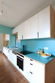 reseau des peintres aménagement d'une cuisine et travaux de peinture #travaux #peinture  #reseaupeintres  www.reseau-des-peintres.fr/