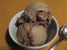 "Rawfully Tempting™: ""Peanut Butter"" Fudge Ripple Ice Cream"