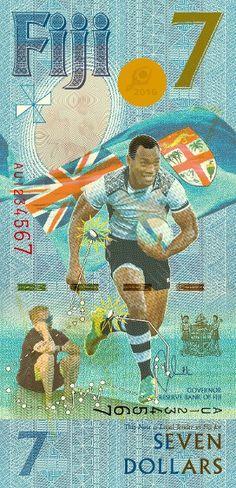 Billete de 7 dólares fiyianos