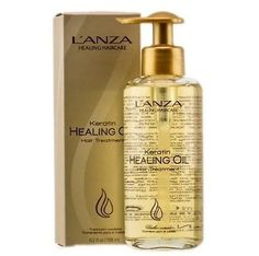 Lanza Keratin Healing Oil Hair Treatment heals excessively damaged hair whilst reducing drying time. Suitable for all hair types, this luscious hair treatment oil is formulated with Lanza's Phyto IV C