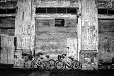 Bikes and Wall by Carlos Ram on 500px