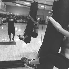 Shananigans at the gym with the boyf  #laughingisaworkoutright? #missedhim #fitcouple  #Padgram