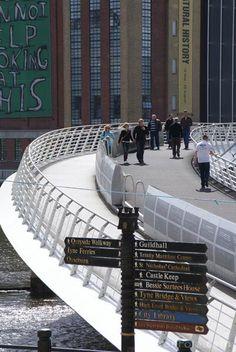 Gateshead bridge