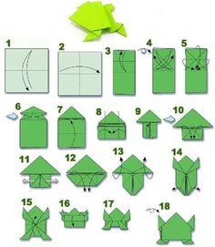 Ideas origami passo a passo sapinho - Zelf maken met papier Origami Ball, Diy Origami, Origami Dog, Origami Cube, Origami Envelope, Useful Origami, Paper Crafts Origami, Origami Tutorial, Easy Origami For Kids