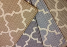 Windsor is a geometric patterned carpet that can be used for wall to wall installation or as an area rug of any size.  Offered in a variety of colors. Axminster carpet made in England.  Similar to what Stark might offer at a better price. Purchase at Hemphill's Rugs & Carpets in Orange County, California. www.RugsAndCarpets.com