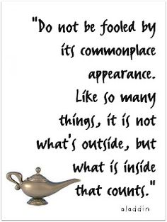 Do not be fooled by its commonplace appearance. Like so many things, it is not what's outside, but what is inside that counts.