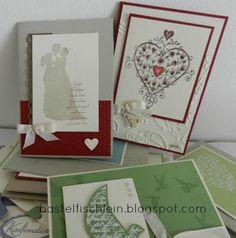 Hochzeitskarten  STempel SU und LOTV