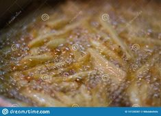 Frying potatoes in virgin olive oil.. Photo about supper, cook, lunch, fastfood, cooking, fatty, chef, boiling, fries, meal, frying, dinner, chips, oily, crisps, virginoil - 141330301