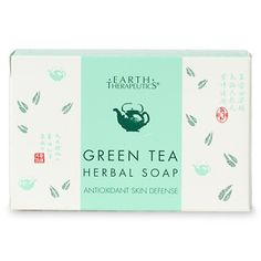 Buy Earth Therapeutics Green Tea Herbal Soap with free shipping on orders over $35, low prices & product reviews | drugstore.com