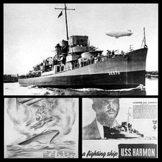 Black Then​July 25, 1943: The USS Harmon was launched by Bethlehem Steel Co. | Black Then