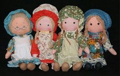 Still have 3 of my Holly Hobbie girls! Group photo of holly hobbie doll line My Childhood Memories, Childhood Toys, Sweet Memories, Holly Hobbie, 80s Kids, Retro Toys, My Memory, Old Toys, Delena