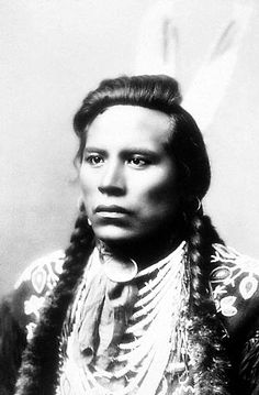 Shuh-shee-ahsh (Curley), the youngest of several Crow scouts attached to General George Armstrong Custer's 7th Cavalry at the Battle of the Little Bighorn in Montana on June 25, 1876. Not a combatant in the battle, he survived to tell the story of what happened, and died of pneumonia on the Crow reservation in 1923.