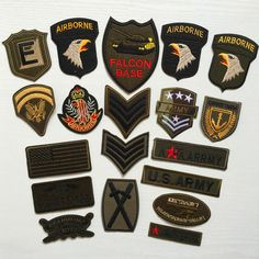 [Visit to Buy] Special PCS Military Rank Patches for Clothing DIY Stripes parches Iron on Embroidered Clothes Motorcycle Army Badges Grade Militaire, Military Ranks, Cheap Patches, Clothing Patches, Eco Friendly Fashion, Embroidered Clothes, Military Fashion, Military Style, Us Army
