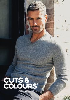 15 Glorious Hairstyles for Men With Grey Hair (a. Grey hair men have a lot of opportunities to try out. Silver Foxes Men, Grey Hair Men, Gray Hair, Mode Man, Mature Men, Haircuts For Men, Haircut Men, Hairstyles Men, Latest Haircuts