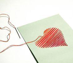 大切なあの人に想い込めて。紙刺繍で刺繍カードを作ろう!