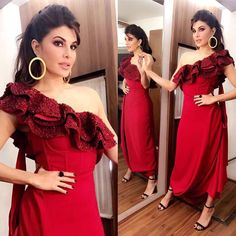 Jacqueline Fernandez getting ready for Bigg Boss 11 to promote #judwaa2