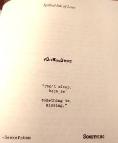Something- SixWordStory