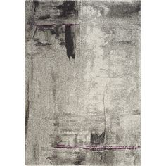 Found it at Wayfair - Ashbury Stroke of Abstract Gray Area Rug