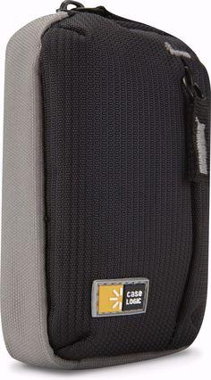 Case Logic TBC-302BLACK Black Ultra-Compact Camera Case With Storage