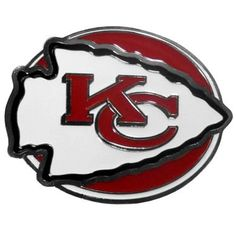 Kansas City Chiefs Hitch Cover Class III Wire Plugs