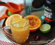 Ginger beer blod orange cocktail- Kivistössä foodblog www.kivistossa.com