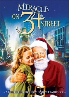 Christmas classic!!!!  I love the guy who plays Santa he is the way I picture St Nick... All the characters are played by awesome actors and actresses... The little girl is played by Natalie Wood (Also starred in West Side Story)